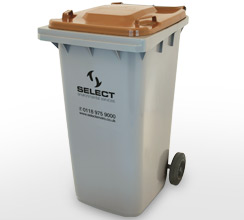 food recycling 240 litre container