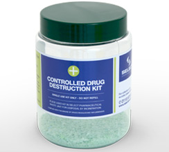 500ml controlled drug destruction kit