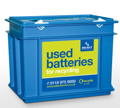 Image result for image of a disposable battery recycling box