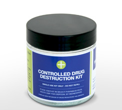 250ml controlled drug destruction kit