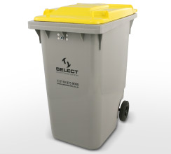 clinical waste 360 litre container