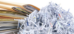 confidential waste - document shredding