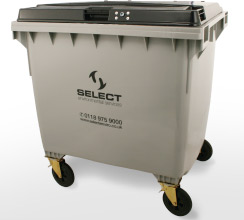 general waste 1100 litre container