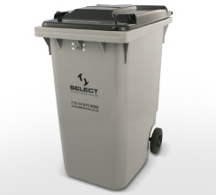general waste 360 litre container