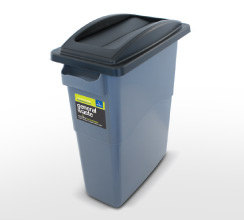 Single internal recycling container