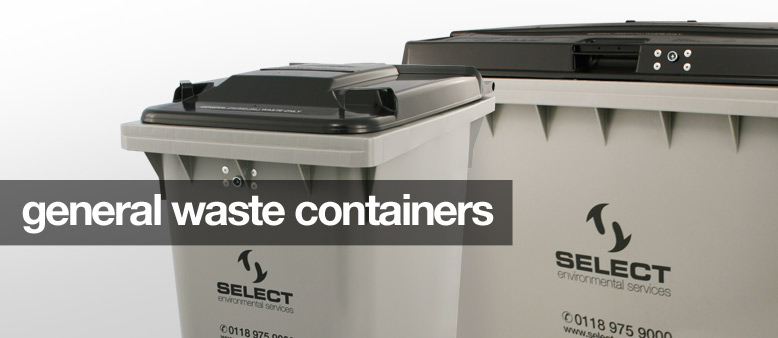 general waste containers