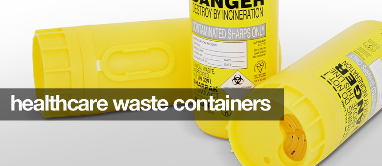 healthcare waste containers