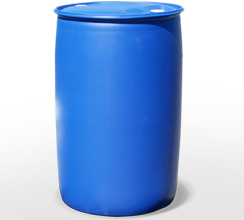 large UN-type hazardous waste drum