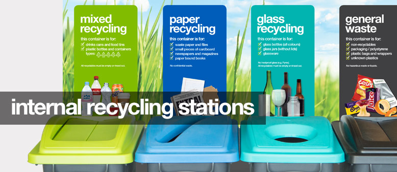 internal recycling stations