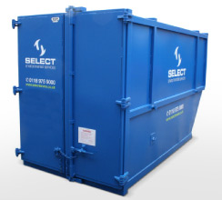 Walk-in storage container