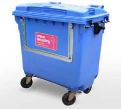 WEEE recycling 770 litre container