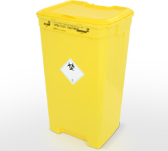 60L clinical waste container